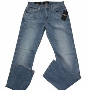 7 For All Mankind Italian Fabric Blue Jeans 30